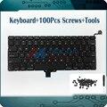 Novo laptop teclado inglês dos eua para apple macbook pro a1278 a1278 eua keyboard eua teclado de substituição 2009-2012 ano
