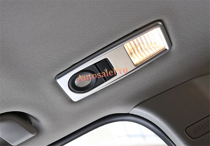 FOR BMW X3 F25 2011 - 2015 Sunroof Rear Reading Light Dome Lamp Frame Cover Trim New home philosophy ваза matilla 14х22х27 см