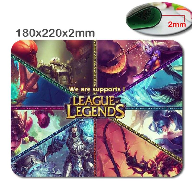 Новое поступление Лидер продаж принт Лига Легенд Высокое качество прочный моды компьютерных игр Мышь геймер Ковры для игр