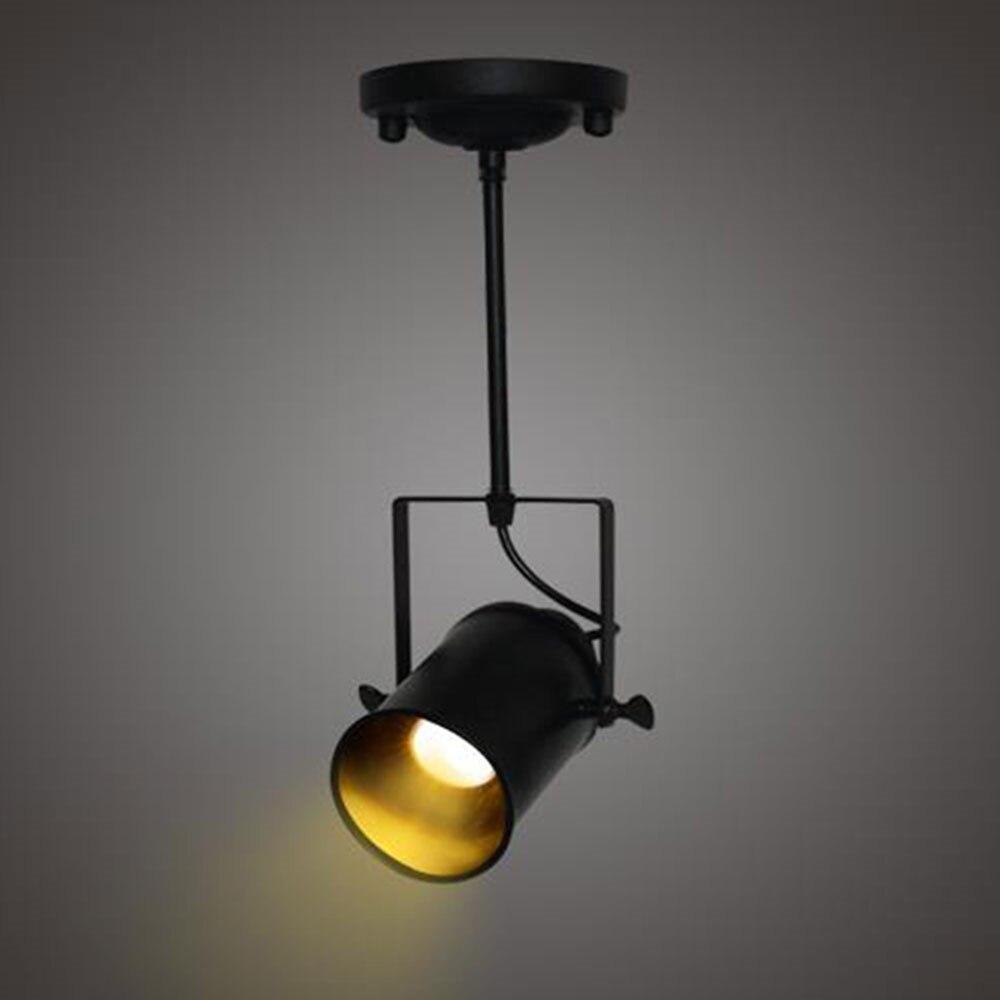 Loft Industrial 5 W Spotlight Cob Llev Los Proyectores De Techo  ~ Lamparas De Techo Estilo Industrial