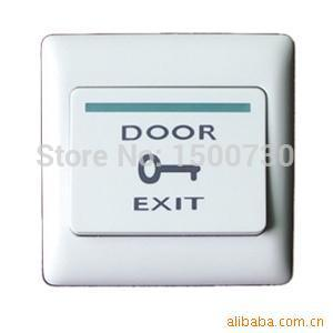 Electric Door Exit Push Release Button For Access Control exit