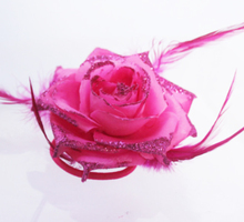 2017 Rose Red Big Rose Flor Headband Mulheres Acessórios de Cabelo Grampos de cabelo criança do Sexo Feminino Menina Floral Presilhas Headwear Enfeite de Cabelo Mulher