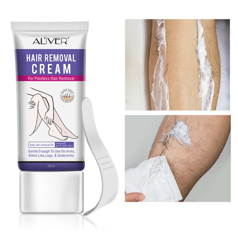 50ml Fast Hair Removal Cream Painless Depilatory Mild Removal Armpit Legs Hair Body Care For Men And Women