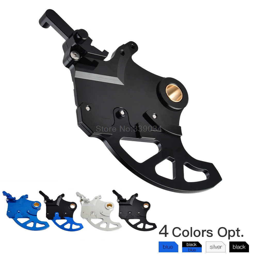 NICECNC Rear Brake Disc Guard Disc Rotor Cover Protector For Yamaha YZ YZF WR 125 150 200 250 300 350 400 450 YZ250 YZF450 WR250 keoghs real adelin 260mm floating brake disc high quality for yamaha scooter cygnus modify