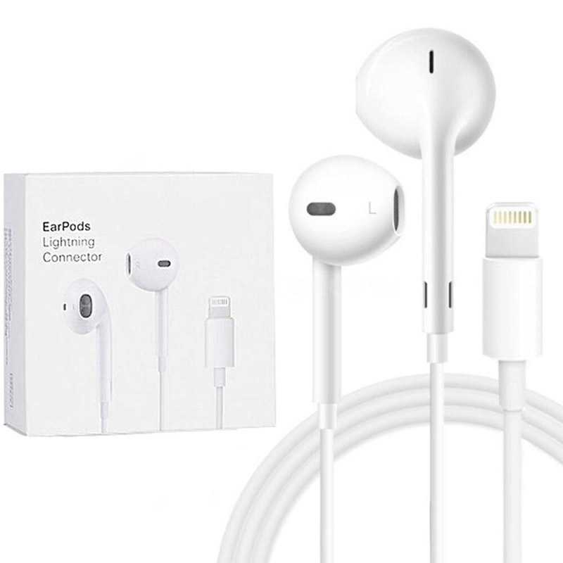 For Apple EarPods with lightning Plug and microphone. Original Earphone for iPhone7|7s8|8p|X and iPadFor Apple EarPods with lightning Plug and microphone. Original Earphone for iPhone7|7s8|8p|X and iPad