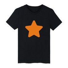 Stars White Cotton T-shirt ood looking and Durable Men/Women Stars design T-shirt with High quality