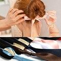 1 pcs mujeres niñas magia esponja de la espuma dispositivo bun donut fabricante del bollo del pelo niña accesorios para el cabello cintas diadema cintas para el pelo