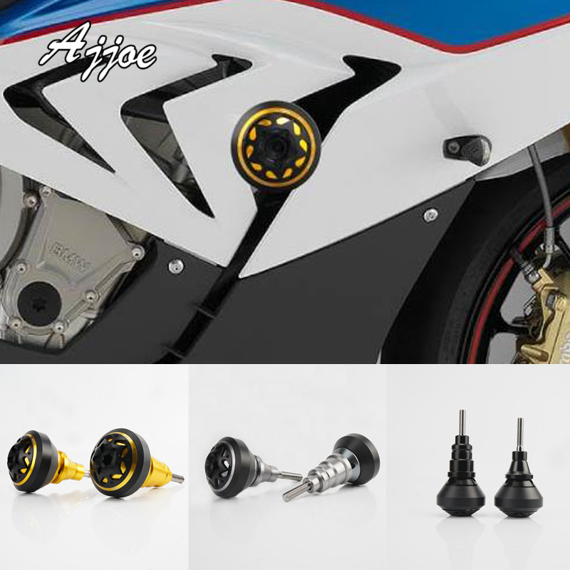 Motorcycle Aluminum Frame Slider Anti Crash Caps Engine Protection Crash Pad Protector For S1000RR 2009-2011 2015-2017 Special