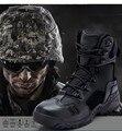 Сапоги долг 2016 вуду передач военный тактические исследования сапоги combat сшивания кожи водонепроницаемый открытый походные ботинки