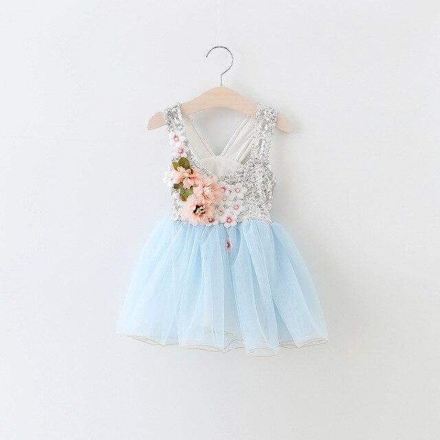 Baby kleid hellblau