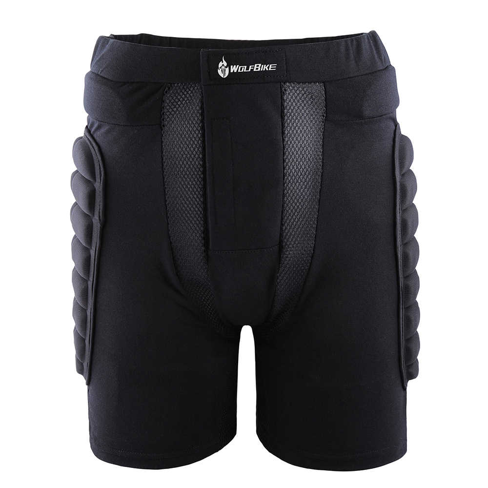 WOSAWE Protection Snowboard Shorts genouillères ensemble Motocross hors route rouleau armure tampons de Protection Skis Hockey Protection costume