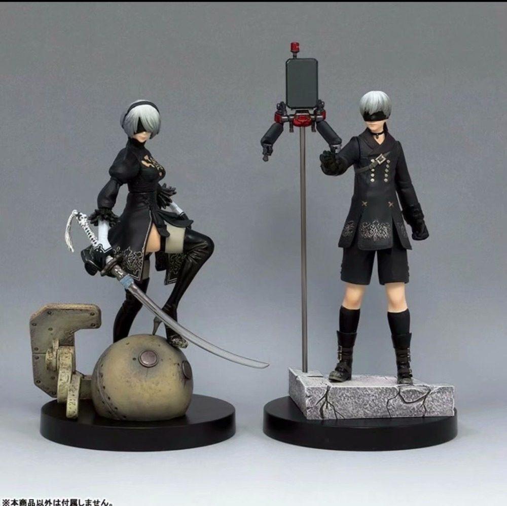 2B YORHA N 2 TIPO B FIGURE 14cm Figurine with BOX//CAJA. FIGURA NIER AUTOMATA