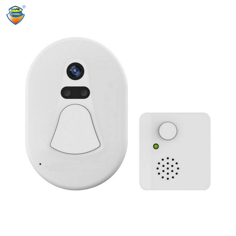 2.0MegaPixel Smart Snapshot WiFi Doorbell Camera With Low Power Consump & Mobile Remote View & Free Cloud Server For Data Saving