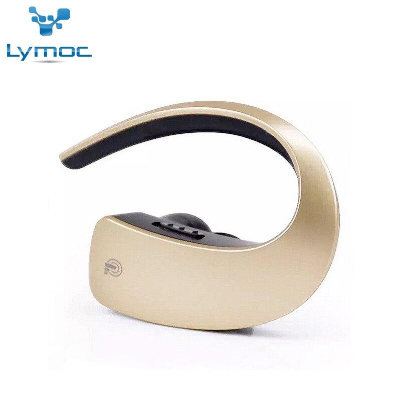 Lymoc Q2 Crochet D'oreille Bluetooth Écouteurs Sans Fil Casque Tactile Clé CVC6.0 Apt-x Stéréo Musique HD MIC Mains Libres Casque pour Mobile