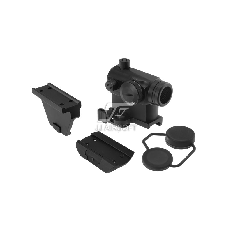 TARGET 1x24 Red Dot with QD Riser Mount , Low Mount , Offset Rail Mount & Killflash / Kill Flash (Black) LT660, LT660HK or LT661