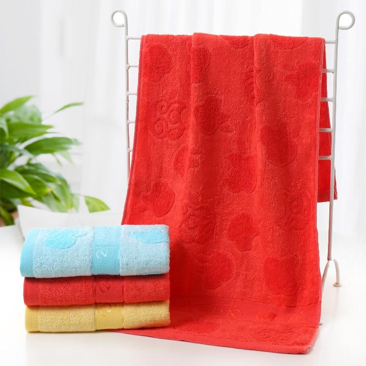 Premium Face Jacquard Apple Towels Set 10 Pack Bamboo Fiber for Hotel & Spa Bath Towel 90x40cm