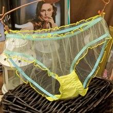 Roupa interior feminina calcinha de renda sem costura sexy lingeries calcinha bragas mujer culotte femme meninas briefs tanga transparente