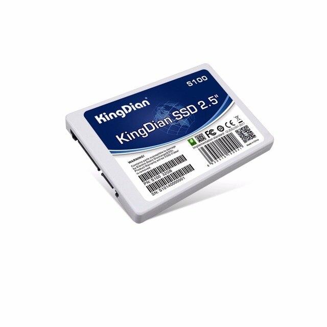 KingDian SSD 32 GB 60 GB 64 GB 120 GB 128 GB 480 GB 240 GB 256 GB 2.5 ''SATAII SATA3 lecteur à semi-conducteurs pour ordinateur portable disque de bureau SDD