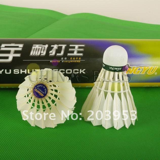 Полет: Hangyu бадминтон воланы прочный Король Волан для бадминтона мяч Прочный горячий в наличии