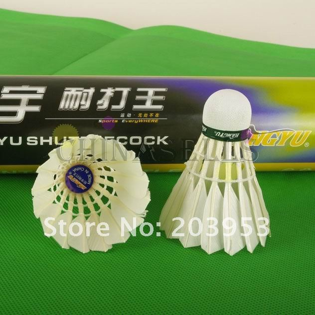 Flight:A  Hangyu Badminton Shuttlecocks Durable King Shuttlecock Badminton Ball Durable Hot In Stock