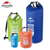 Naturehike Водонепроницаемый сухой мешок Рулон Топ сжатия сухой мешок для каякинга пляж, рафтинг, гребля Пеший туризм походы и Рыбалка 5L-60L