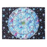 150x200cm Indian Mandala Tapestry Wall Hanging Bedspread Beach Towel Blanket Yoga Mat Tablecloth Home Decoration Beautiful