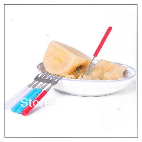 6pcs fondue forks tip chocolate cheese fruit kitchen bbq for Kitchen tool 6pcs set