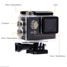Camcorder Recorder Waterproof 30 Meters Go Pro Style Sport Action Mini Camera 2 Inch LCD Screen