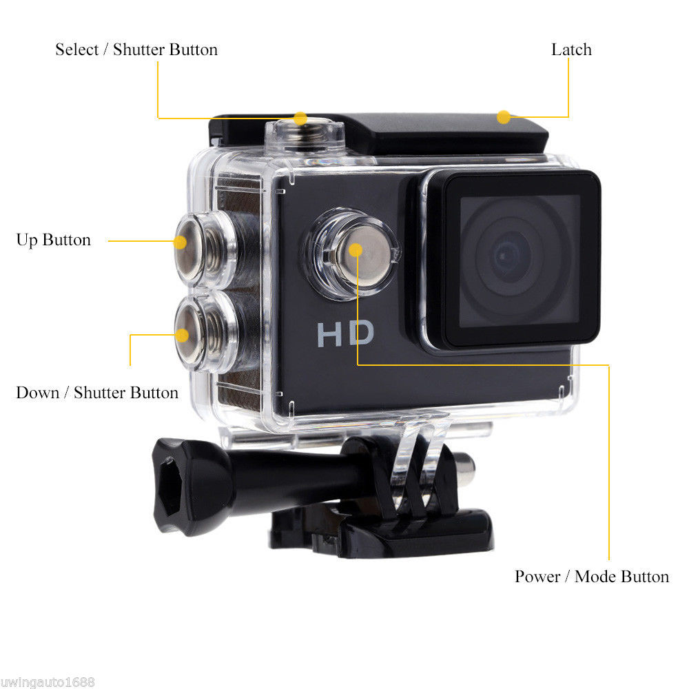 Camcorder Recorder Waterproof 30 Meters Go Pro Style font b Sport b font font b Action