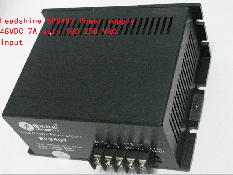 Leadshine SPS487 48 VDC / 7A Switch Power Supply with 180-250 VAC Input