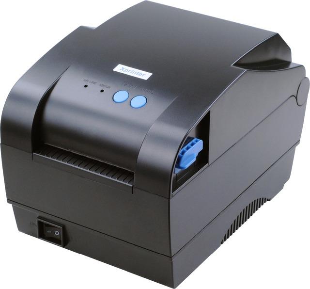 XP-365B 20mm-80mm ancho de impresión de código de barras Térmica Directa lable impresora de código de barras impresora de códigos qr