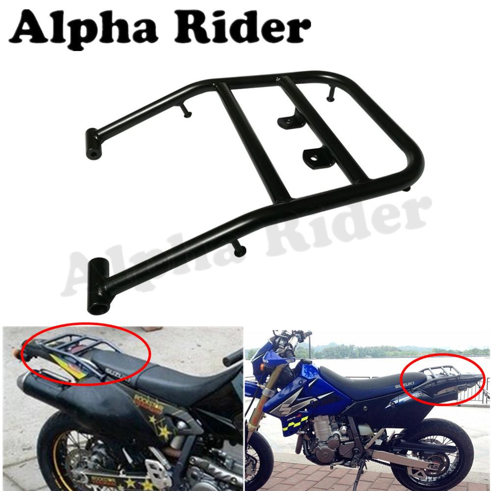 Off Road Detachable Rear Luggage Rack Holder Saddlebag Cargo Shelf Bracket Kit for Suzuki DRZ400 DR-Z400 Motocross Pit Dirt Bike