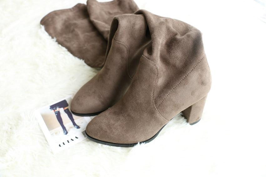 Women Over The Knee High Heel Winter Sexy Boots 32