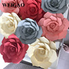 WEIGAO 1Pcs 30/40cm DIY Artificial Paper Flowers Wedding Decoration Rose Flower Girl First Birthday Mariage Event Party Supplies 4