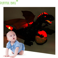 Electric creative Tyrannosaurus Dinosaur Animal Model Night Market Lighting Hot Selling Boys, Girls and Children's Toys VI02
