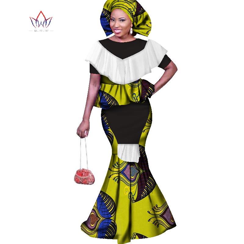 2019 naiste traditsiooniline riietusriietus kleidideks 6xl moekunsti baari riche o-kaela pikk kleit pluss suurus regulaarne WY1683