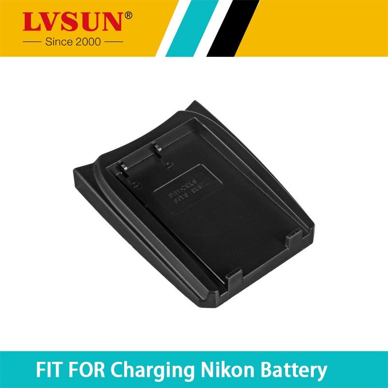 LVSUN EN-EL9 EN EL9 ENEL9 Rechargeable Battery Adapter Plate Case for Nikon EN-EL9a D40 D40X D60 D3000 D5000 Batteries Charger