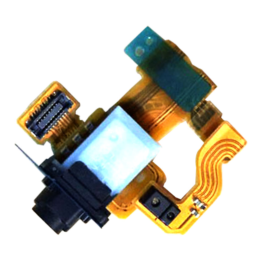 New For Sony Xperia Z3 Compact D5803 D5833 Mobile Phone Parts OEM Earphone Audio Jack Flex Cable