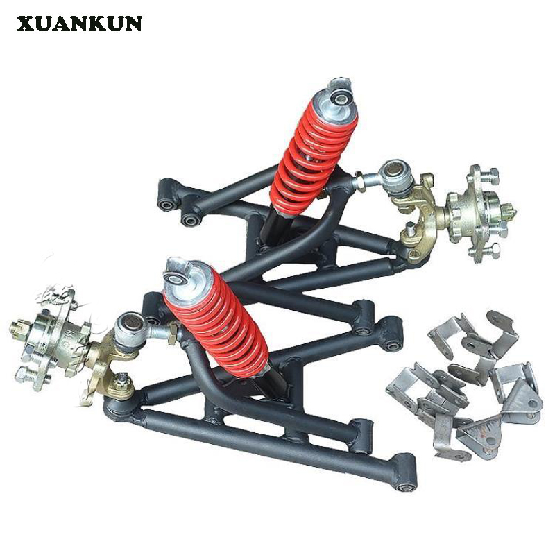XUANKUN ATV Up And Down Rocker Assembly Self - Made Four - Wheeler Modified Parts Karting Front Suspension Steering Flange