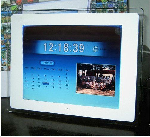 """NEW Fashion 12.1"""" LCD Digital Photo Picture Frame FREE SHIPPING"""