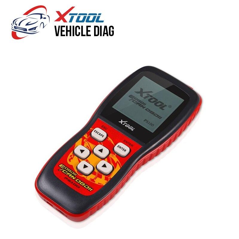 Oringinal XTOOL PS100 Scanner de données en direct OBDII EOBD mise à jour en ligne fonctionne sur tous les 1996 et les voitures plus récentes