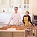 Erweiterbar Besteck Bambus Schublade Organizer Besteck Tablett Multi funktionale Schublade Fall Besteck Küche Büro Schlafzimmer Lagerung Box-in Schubladen aus Heim und Garten bei