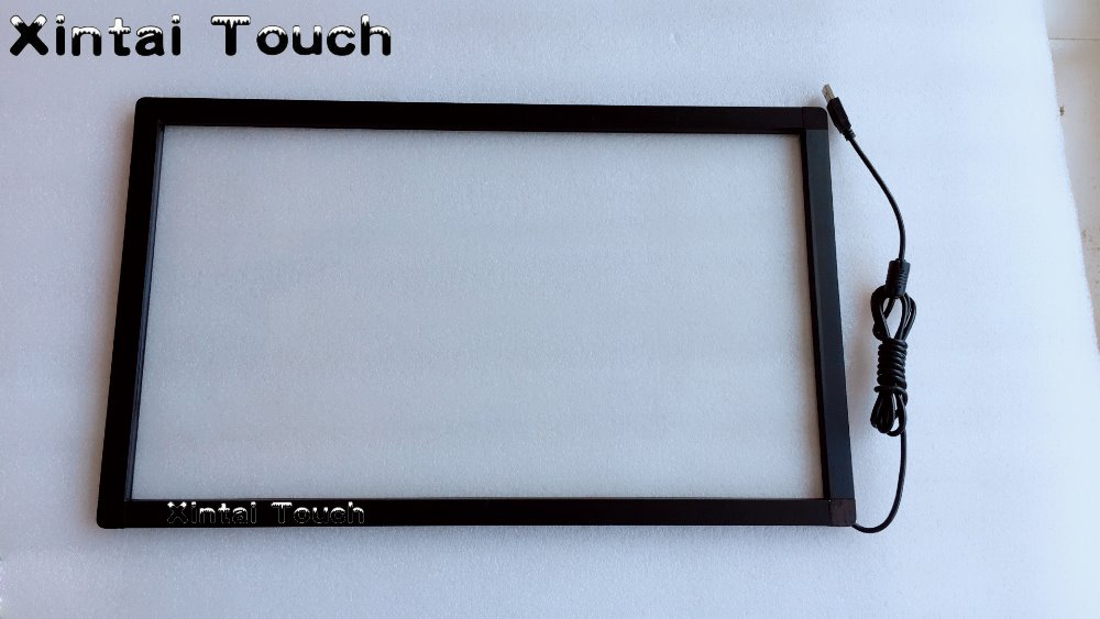 Xintai Touch 5PCS 24 Inch High Definition 2 points multi touch screen panel / IR multi touch screen overlay new type 14 inch 16 9 infrared ir touch screen ir touch frame overlay 2 touch points plug and works multi points