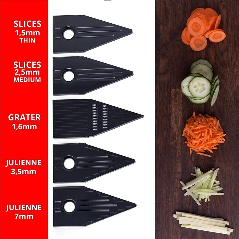 TTLIFE Zufällige Farbe Multifunktionaler V-Slicer Mandoline Slicer - Küche, Essen und Bar - Foto 5