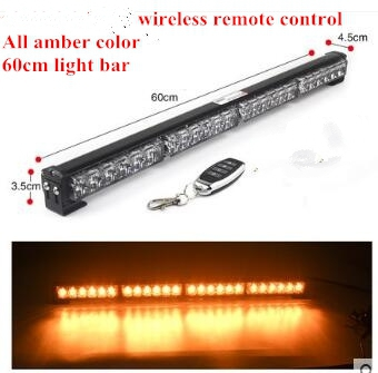Wireless remote controlchange color car led warning lightspolice wireless remote controlchange color car led warning lightspolice light barstrobe day lightwork lightwaterproof in signal lamp from automobiles aloadofball Images