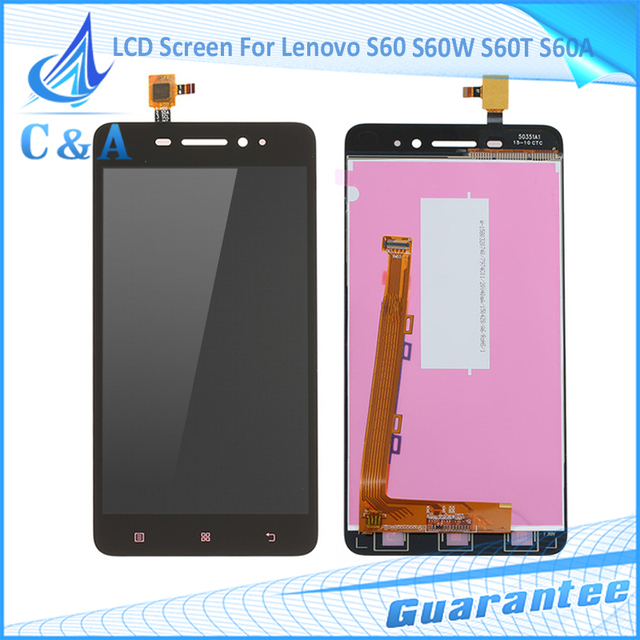 5''Inch Repair Parts For Lenovo S60 S60W S60T S60A LCD Display Screen Touch Panel Assembly Replacement Free Shipping 1 Piece