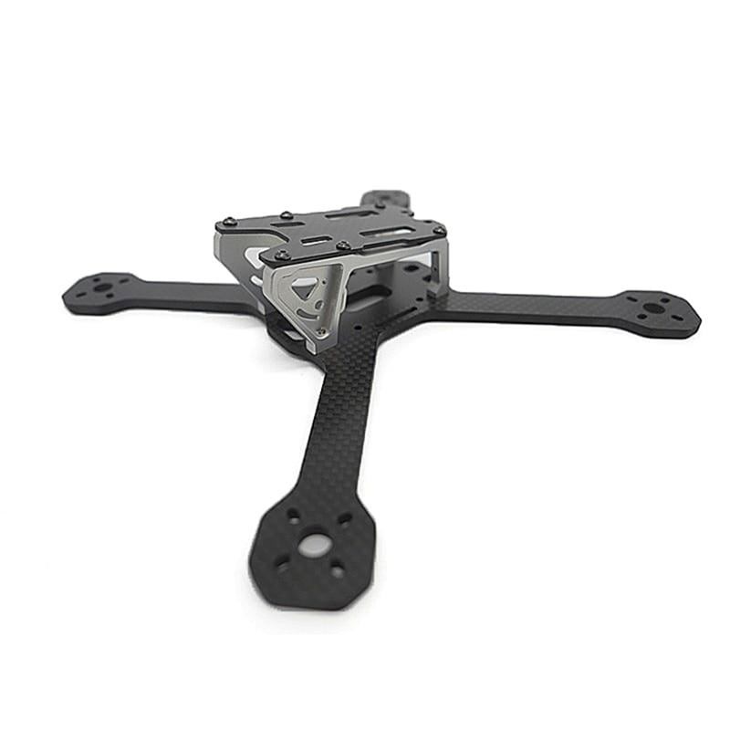 ФОТО High Quality Race Lite 218mm Carbon Fiber 4mm Arm X Frame DIY Frame Kit For RC Multicopter Part