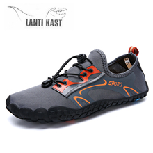 Summer Water Shoes Sneakers Men Aqua Shoes Barefoot Outdoor Beach Sandals Upstream Quick Dry River Sea Diving Swimming Shoes
