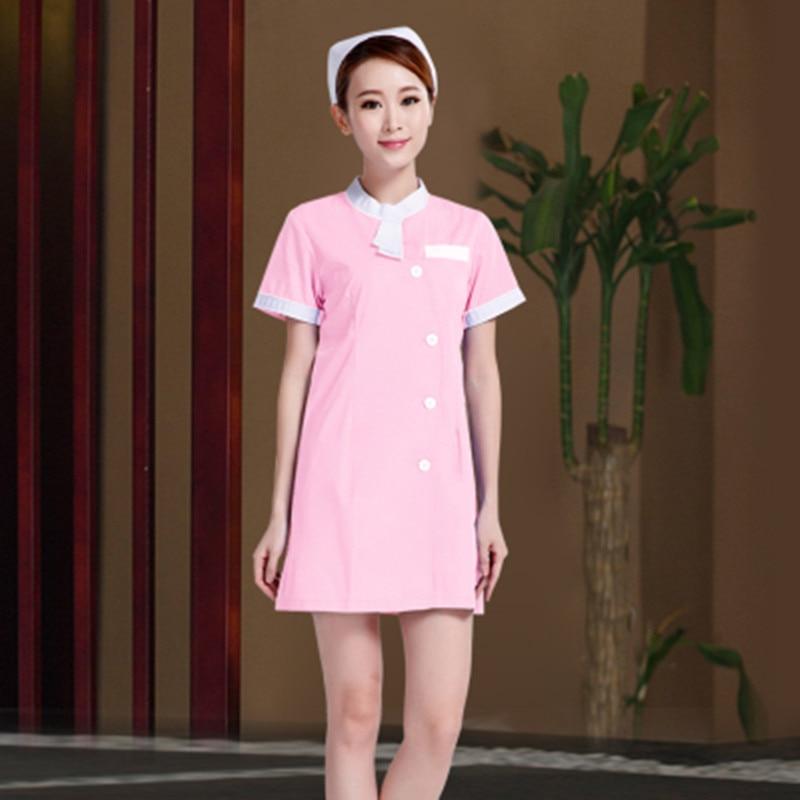 ≧Alta calidad verano mujeres Trabajo desgaste uniformes uniforme de ...