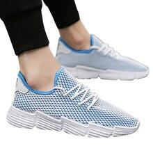 2019 shoes men Pure color fashion New Men's Mesh comfortable Leisure Sp